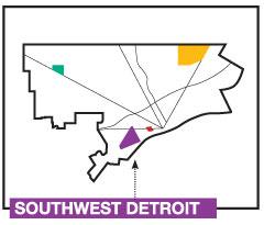 3 Map of Southwest Detroit