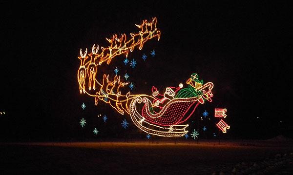 Wayne County Lightfest Holiday Light Display